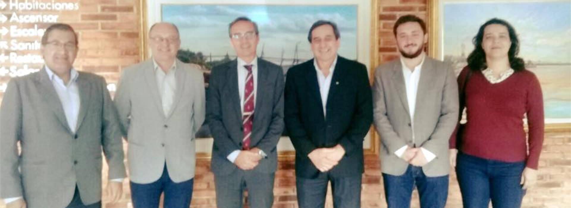 Ibáñez se reunió con funcionarios nacionales para avanzar en el desarrollo de la UNAU
