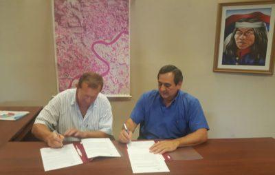 La UNAU firmó un convenio de cooperación con la municipalidad de Colonia Aurora