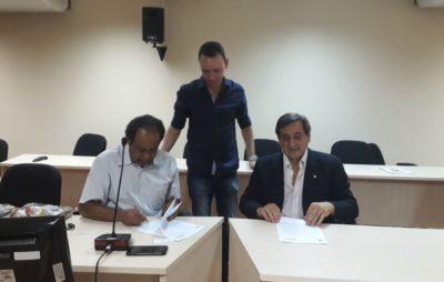 La UNAU firmó un convenio de cooperación con la universidad brasileña Unicentro