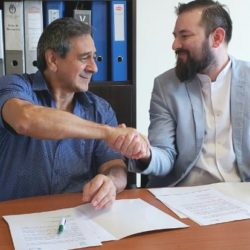 La UNAU firmó un convenio de colaboración con el Instituto de Neurociencias de Misiones