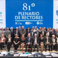 La UNAU estuvo presente en el 81° Plenario de Rectores del CIN