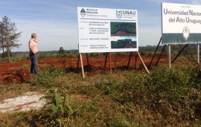 La UNAU comenzó la construcción de su campus universitario