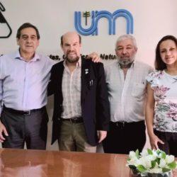 La UNAU firmó un convenio con la Facultad de Ciencias Exactas de la UNaM